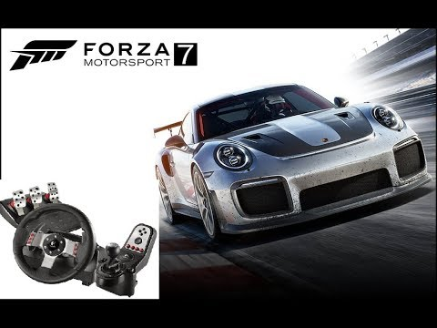 forza 7 logitech g27 set up on pc with 900 degree rotation youtube. Black Bedroom Furniture Sets. Home Design Ideas