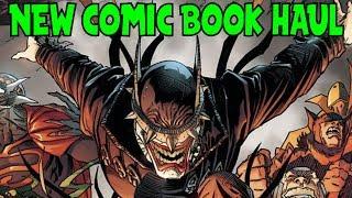 New Comic Book Haul January 31 2018