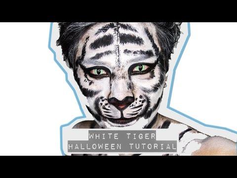 White Tiger Halloween Tutorial | Marc Zapanta