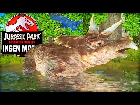 BABY DINOSAURS IN THE PARK! | Jurassic Park: Operation Genesis - InGen Mod 2 (Part 1)