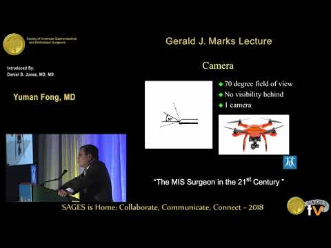 Gene Surgery and the Next Generation of MIS/Robotic Surgeons - SAGES 2018 Gerald Marks Lecture