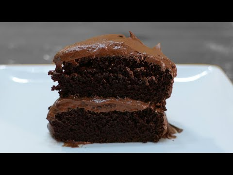 How To Make Chocolate Cake | Easy Amazing Homemade Moist Chocolate Cake Recipe