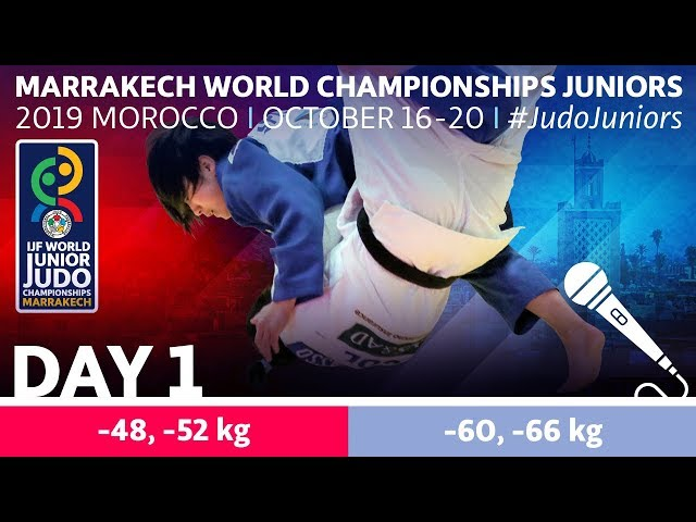 World Judo Championships Juniors 2019 - Day 1