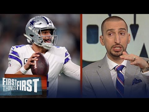 Nick Wright questions if Dak Prescott has proven he can lead the Cowboys   NFL   FIRST THINGS FIRST