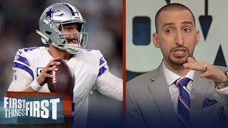 Nick Wright questions if Dak Prescott has proven he can lead the Cowboys | NFL | FIRST THINGS FIRST