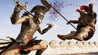 Assassin's Creed Odyssey - Legendary Dikastes Warrior Destructive Rampage, Stealth & Fort Clearings