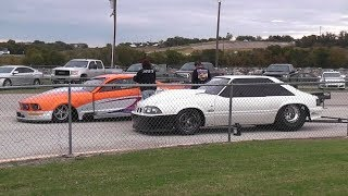Chuck from Street Outlaws vs Kayla Morton at Doomsday No Prep