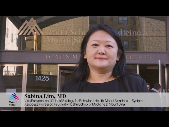Sabina Lim, MD, MPH, Vice President and Chief of Strategy for Behavioral Health