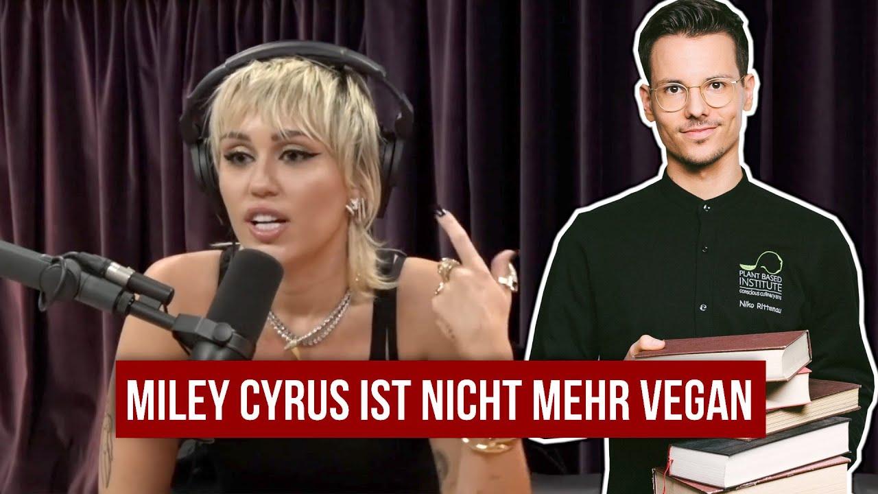 Miley Cyrus ist nicht mehr vegan • Omega 3 ohne Fisch? • Stellungnahme