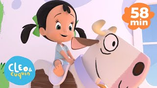 Cover images Old Macdonald Had a Farm and more Nursery Rhymes of Cleo and Cuquin | Songs for Kids