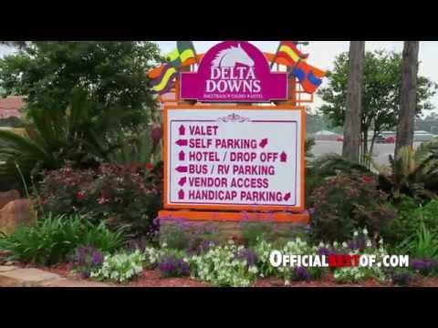 Delta Downs Racetrack Casino Hotel - Best Live Racing Excitement - Louisiana 2014