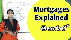 mortgage loan types of mortgages explained in telugu by advocate sowjanya  hyderabad