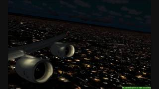 FS2004 South African Airways ATLANTA - CAPE VERDE - JOHANNESBURG