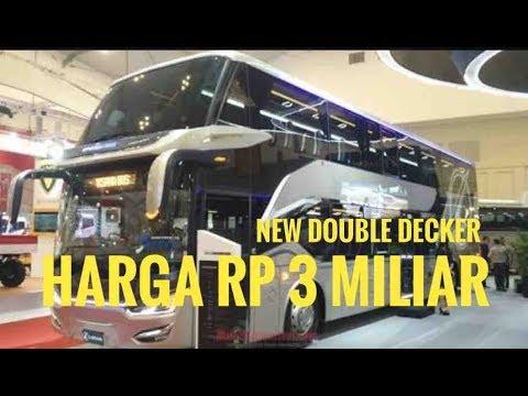 Bus Double Decker Scania Laksana Sumpah Keren Banget Giias 2018 Youtube