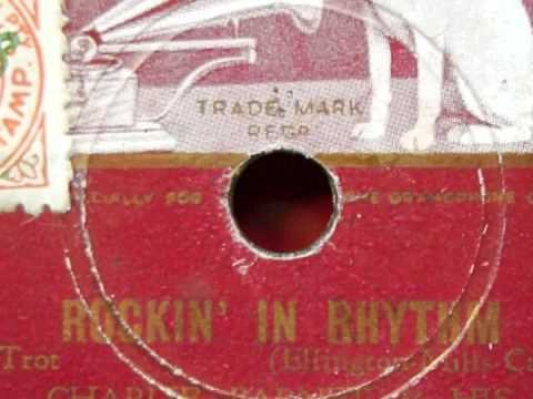78rpm Restoration  Charlie Barnett  Rockin' in Rhythm