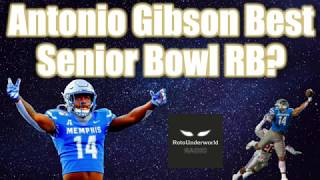 The podfather matt kelley (@fantasy_mansion) and alex dunlap (@rosterwatch) were impressed by antonio gibson's upside in fantasy football leagues given d...