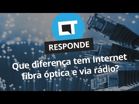 Qual a diferença entre internet fibra ótica e internet via rádio? [CT Responde]