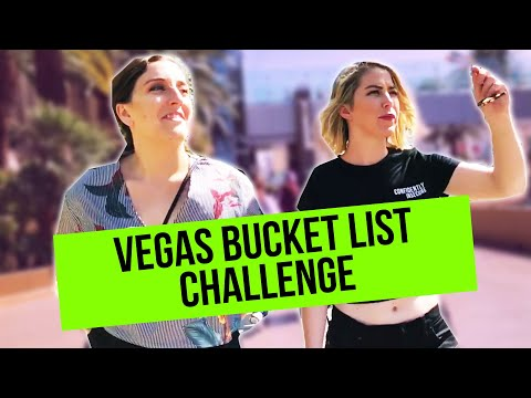 WE TRIED TO COMPLETE OUR BUCKET LIST IN VEGAS // ADULT SH1T // EP. 26