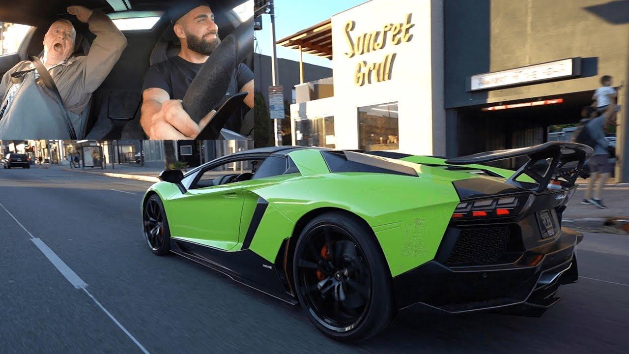 Rdbla Verde Lamborghini Reaction Video Ford 6x6 Lebron James Cullinan Ferrari 488 Youtube