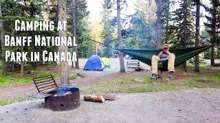 Camping At Banff National Park in Canada