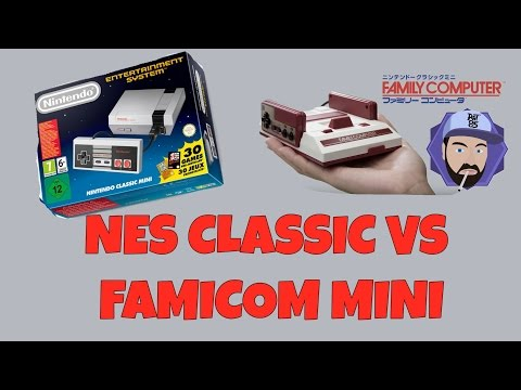 NES Classic Mini vs Famicom Mini - Differences and Which to Buy | RGT 85