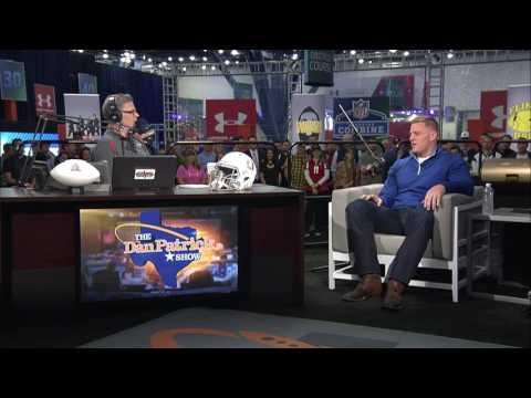 J.J. Watt is Unsure About Future of Brock Osweiler as Texans QB - 02/02/2017