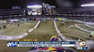 Supercross comes to Petco Park