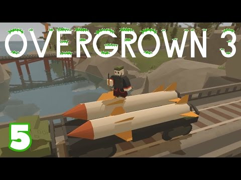 "UNTURNED Overgrown 3 -- Ep. 5 ""Scorpion-7 Train!!"" (Custom Map)"