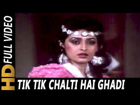 Tik Tik Chalti Hai Ghadi| Anuradha Paudwal | Elaan-E-Jung 1989 Songs | Dharmendra, Jaya Prada