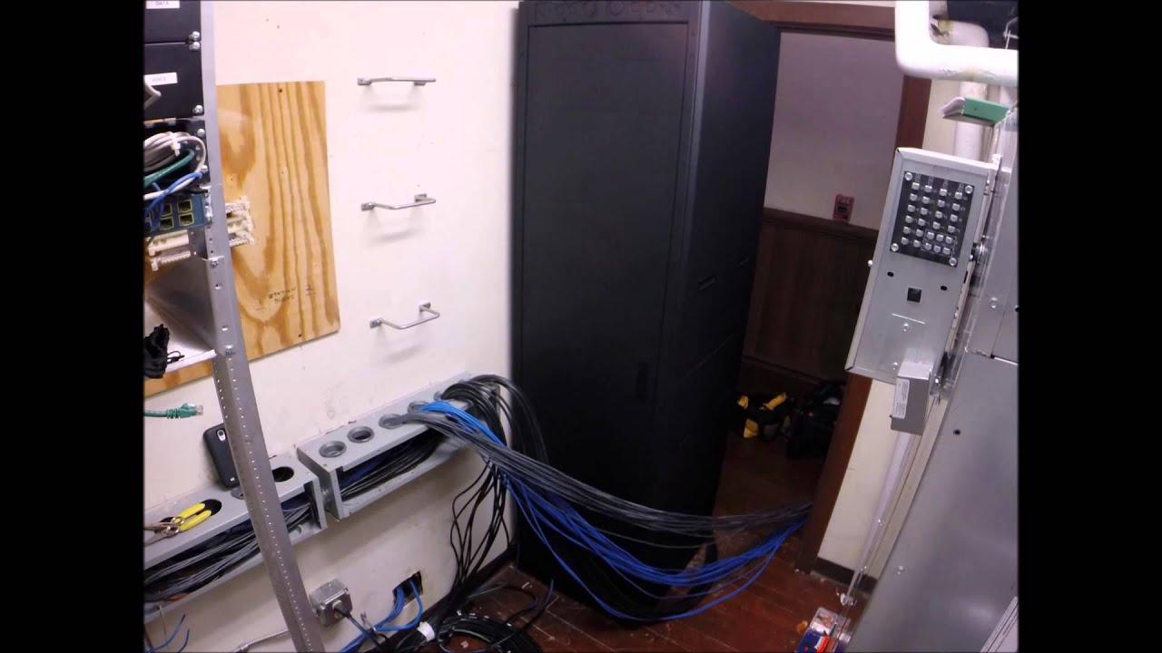 medium resolution of commercial av closet wiring