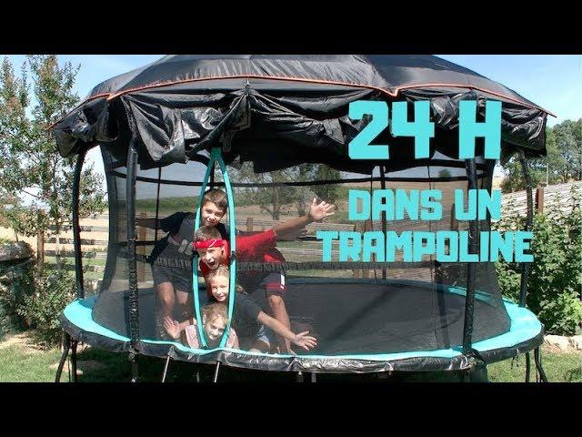 24h DANS UN TRAMPOLINE