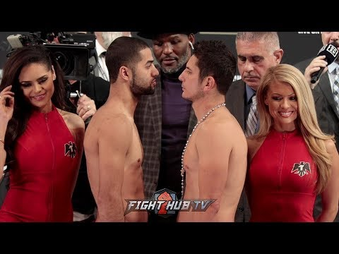 SADAM ALI AND MAURICO HERRERA - FACE TO FACE - FULL WEIGH IN VIDEO & FACE OFF