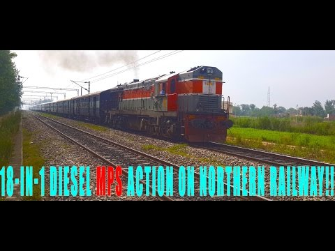 ULTIMATE ALCO EMD Indian Railways High Speed Compilation