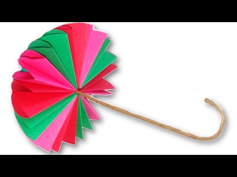 Rotating Paper Umbrella Youtube