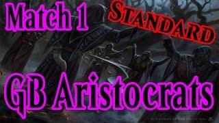 gb aristocrats deck tech match 1