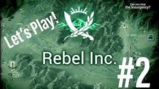Rebel Inc IOS Tutorial 2 Game Play Campaign Military No Commentary New 2018 Let's Play strategy new
