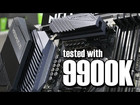 Asus ROG Maximus XI Extreme Full 9900K Review