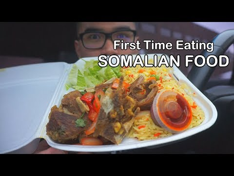 First time eating Authentic SOMALIAN FOOD