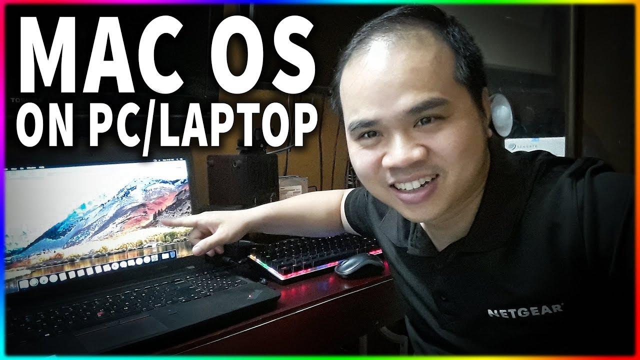 Tải và cài MAC OS Mojave cho bất cứ Laptop/PC nào (Link tải dưới mô tả nhé)