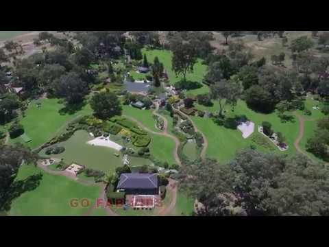 Cowra Japanese Garden and Cultural Centre NSW done by DRONE Christmas day 2017