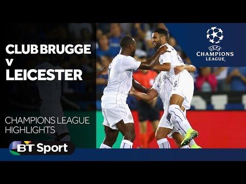 Club Brugge 0-3 Leicester City | Champions League highlights