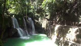 philippines 2013 cascade de mag aso antequera bohol