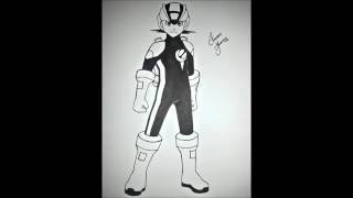 Speed Drawing Megaman (MEGAMAN NT WARRIOR)