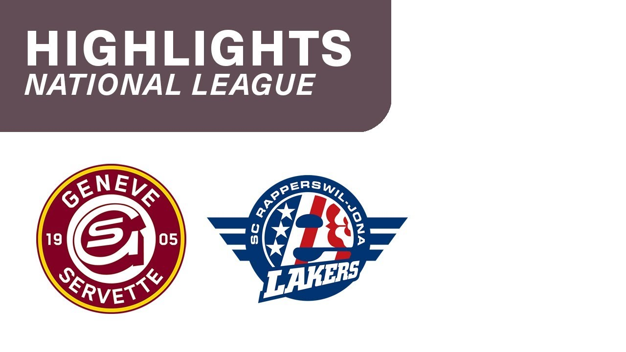 Genf vs. SCRJ Lakers 1:3 - Highlights National League