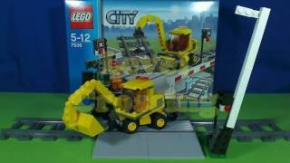 LEGO LEVEL CROSSING 7936