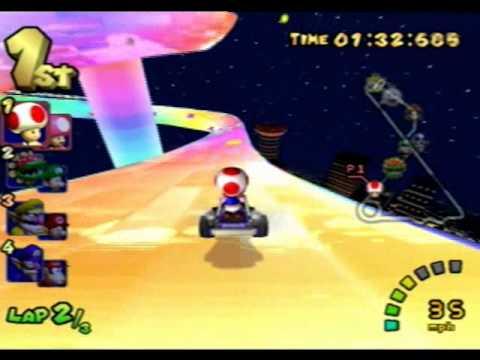 Mario Kart Double Dash - Rainbow Road 150cc