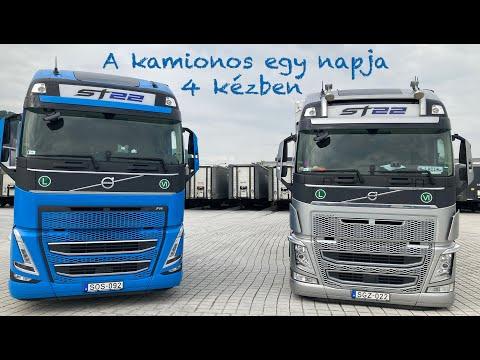 A kamionos 1 napja  - Úton Angliába 4 kézben