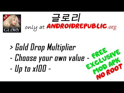 글로리 GOLD DROP MOD APK - YouTube