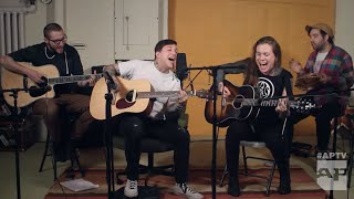 "frnkiero andthe cellabration and Laura Jane Grace cover John Lennon's ""Instant Karma!"""