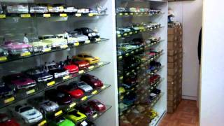1/18 Scale Diecast Model Car Collection